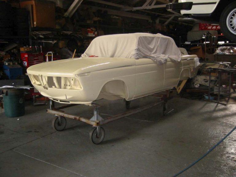 1964 BMW 1800TiSA NeueKlasse – Chamonix