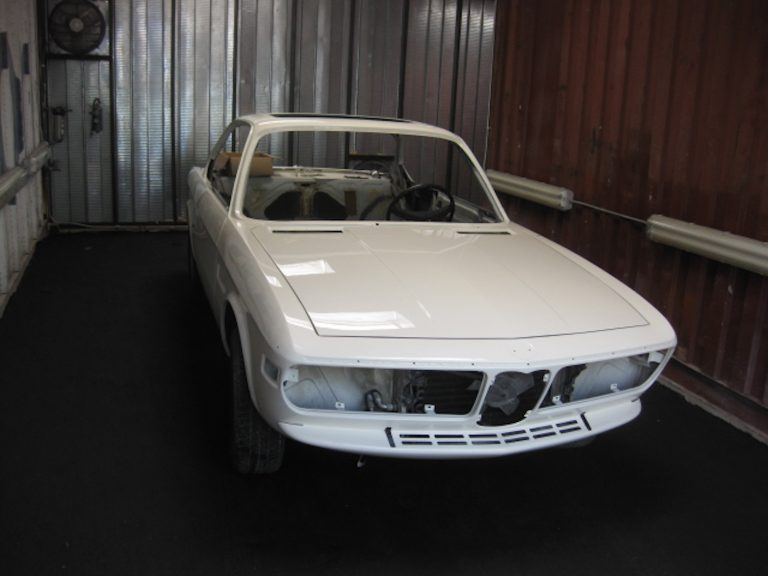 1973 BMW 3.5CS Coupe Yalie – Chamonix
