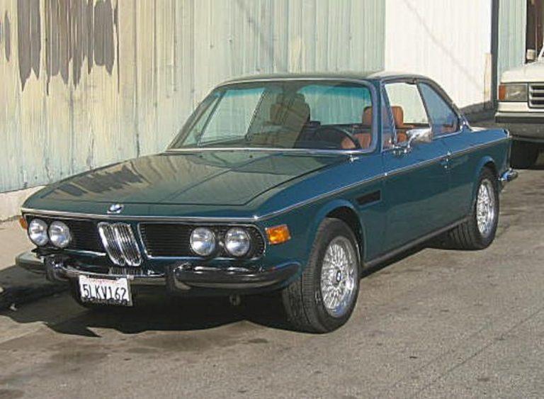 1972 BMW 3.5CS Chuck's Coupe – Agave