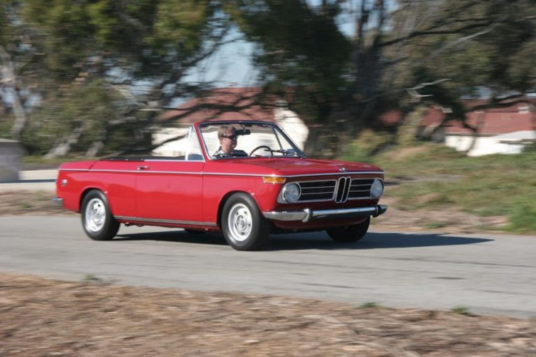 1968 BMW 1600 Cabriolet – Verona