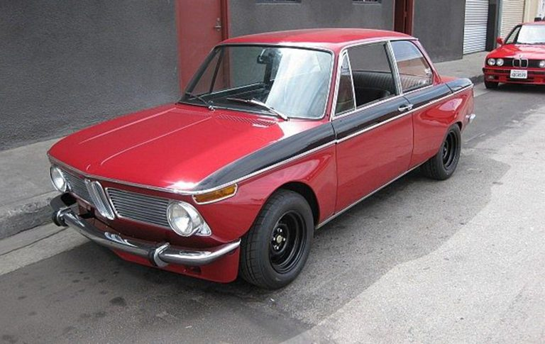 1969 BMW 1600 Red Baron Build