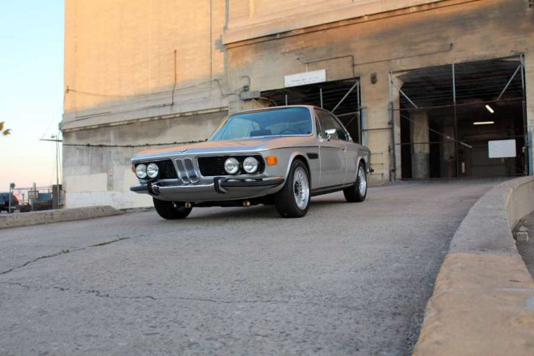 1972 BMW 3.0CS Silver Surfer – Polaris