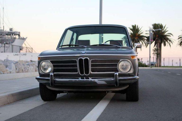 1972 BMW 2002Tii Lil' Bastard – Anthracite