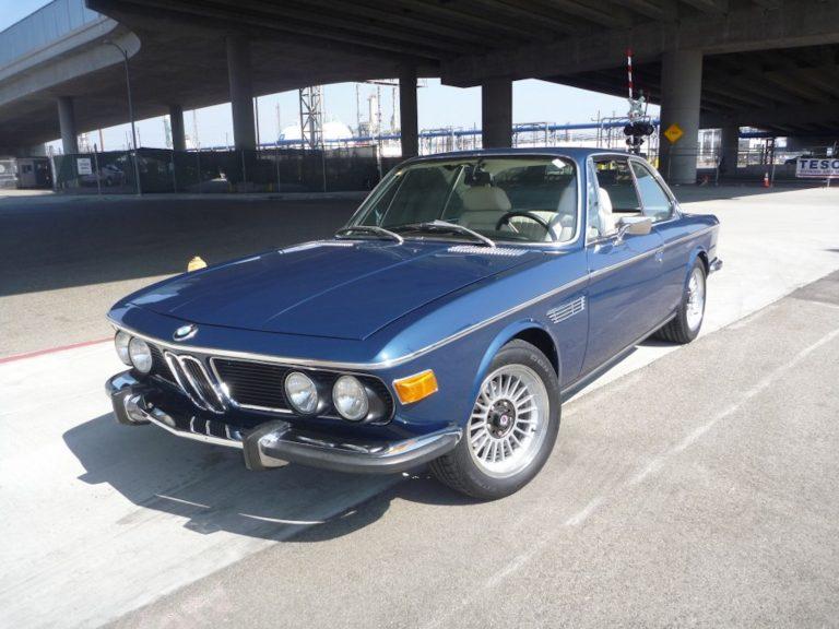 1973 BMW 3.0CS Coupe – Nachtblau