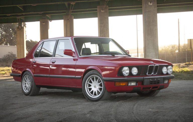 1987 BMW E28 535is