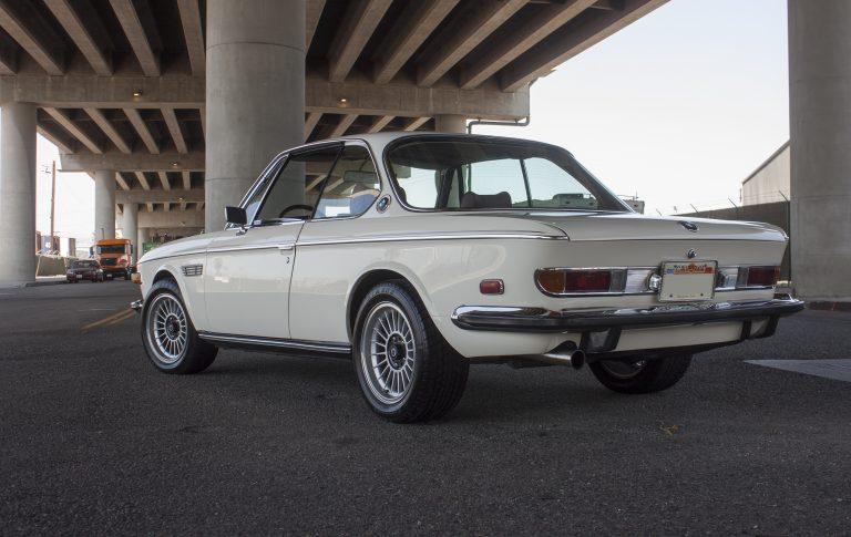 1973 BMW 3.0CS – White/Red